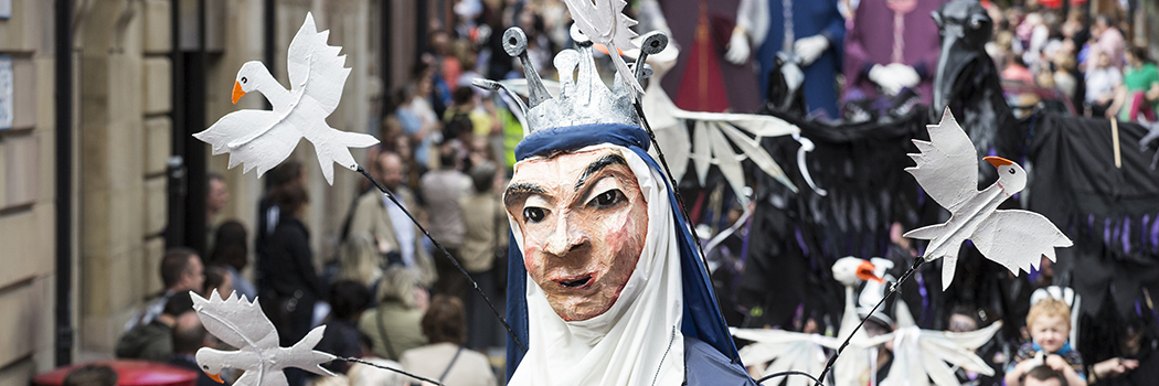 Chester's Midsummer Watch Parades return June 24 & 25 2017 at 2pm