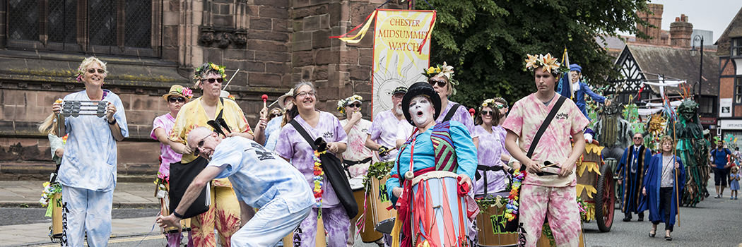 Chester's Midsummer Watch Parades